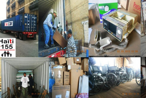 Photos of Medical Supplies sent by Haiti 155